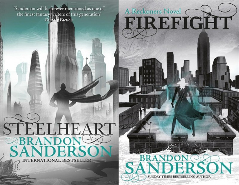 UK Competition: STEELHEART and FIREFIGHT by Brandon Sanderson ...