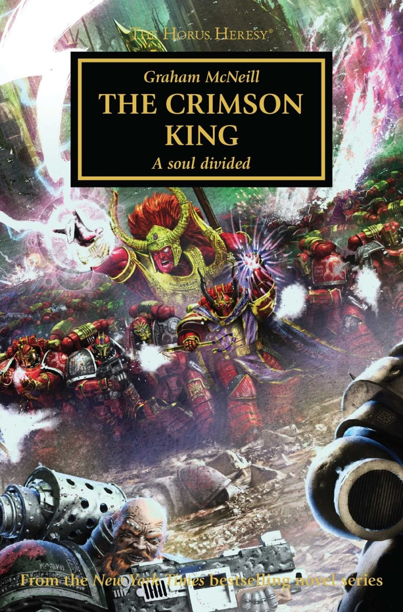 Review: THE CRIMSON KING by Graham McNeill (Black Library)