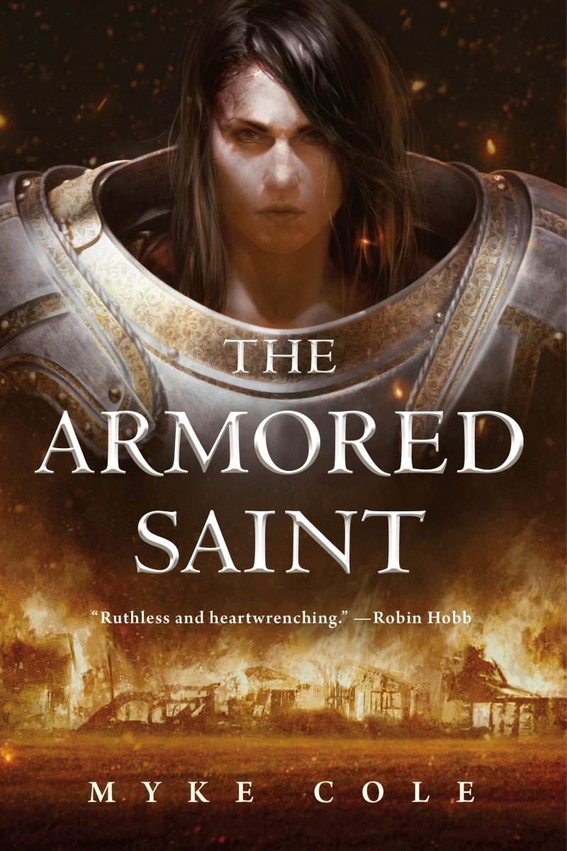 Quick Review: THE ARMORED SAINT by Myke Cole (Tor.com)