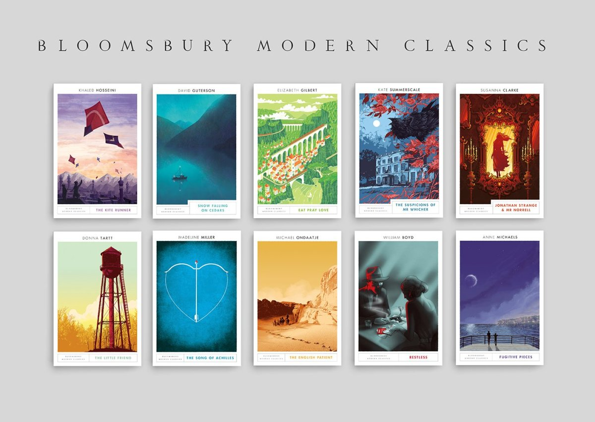 Drop-Dead Gorgeous new Bloomsbury Covers...