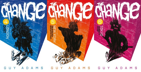 Image result for the change series/ guy adams