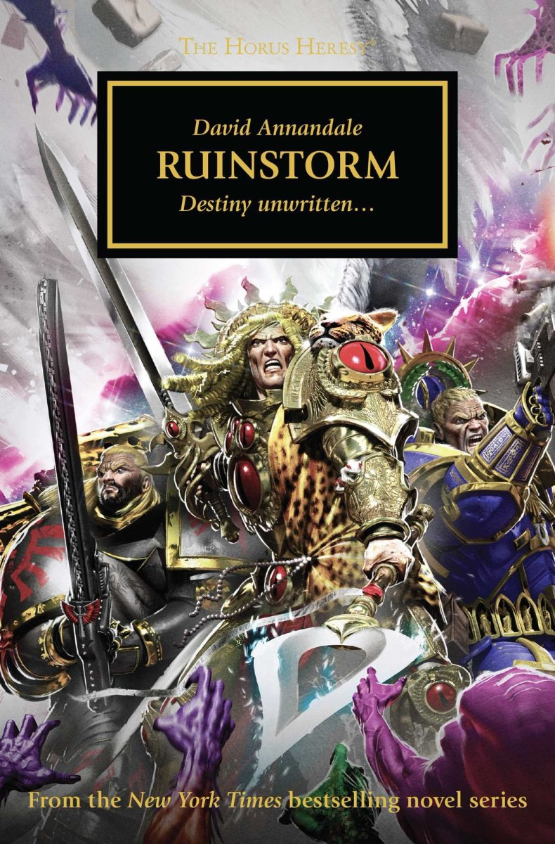 Quick(ish) Review: RUINSTORM by David Annandale (Black Library)