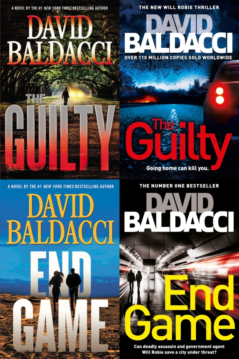 Review: THE GUILTY and END GAME by David Baldacci (Grand Central / Macmillan)