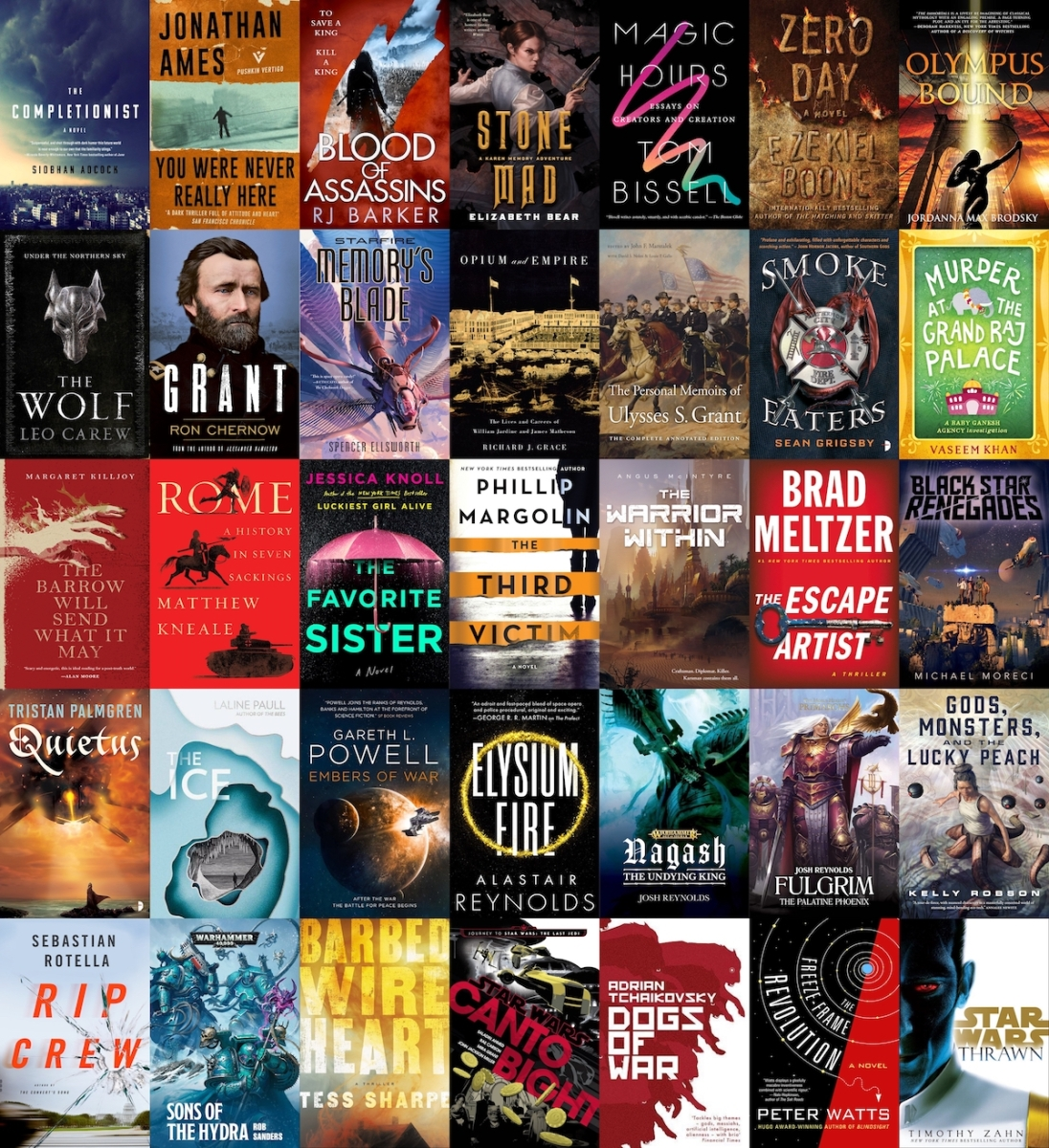 New Books (December 2017-January 2018)
