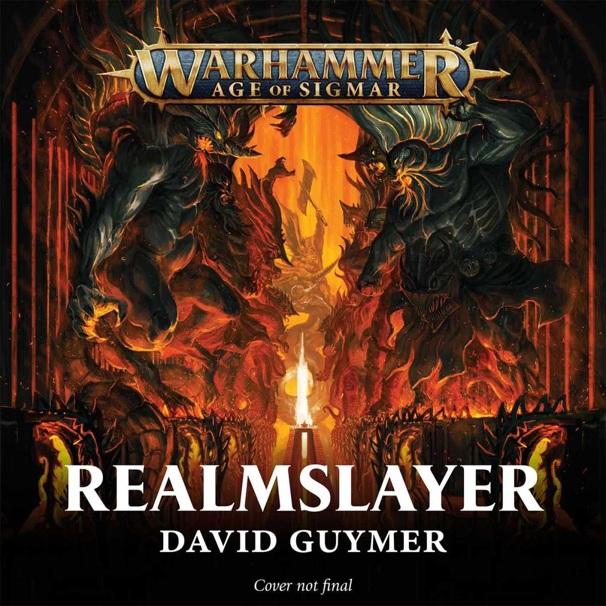 Upcoming: REALMSLAYER by David Guymer (Black Library)