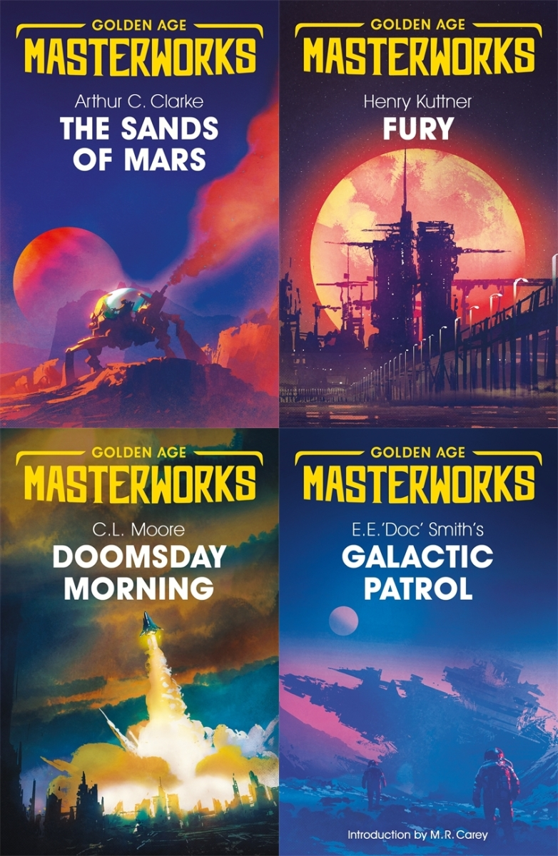 Upcoming: Golden Age Masterworks Editions (Gollancz)