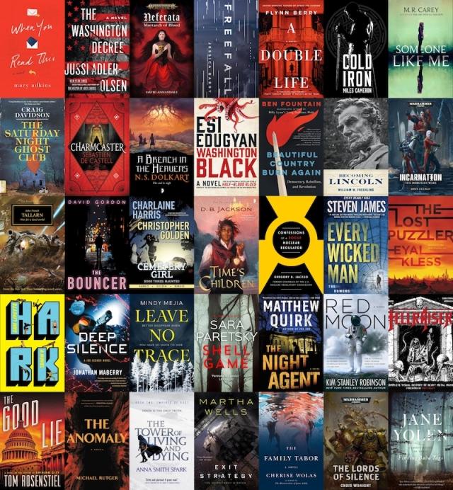 New Books August Civilian Reader