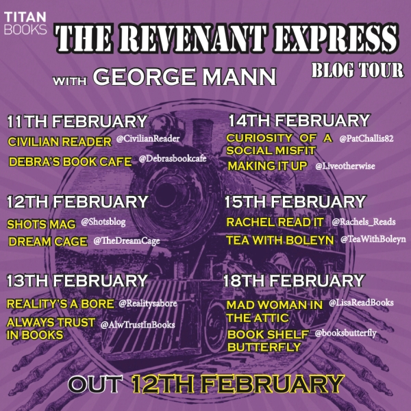 Revenant Express blog tour banner