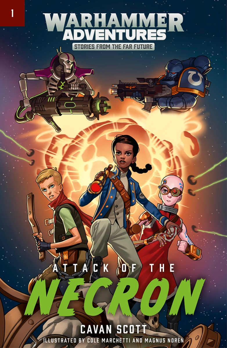 Quick Review: ATTACK OF THE NECRON by Cavan Scott (Black Library)