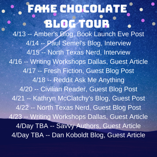 Fake Chocolate Blog Tour